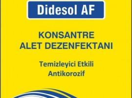 OPTİK DEZENFEKTAN ALDEHYDESİZ DİDESOL AF