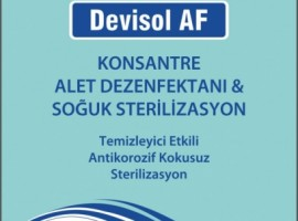 OPTICAL DISINFECTANT DEVISOL AF