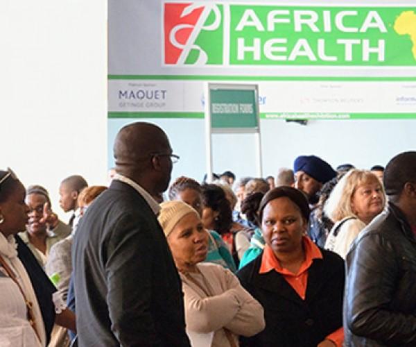 AFRICA HEALTH 2016  AFRİKA / JOHANNESBURG